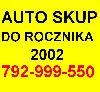 Skup AUT DO 2002r. WARSZAWA 792-999-550 poszukuję Samochody Osobowe