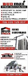 P.P.H.U BUD-MAX Bobula Józef poszukuję Budownictwo, Remonty