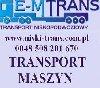 TRANSPORT MASZYN ROLNICZYCH BUDOWLANYCH PONADNORMATYWNY CIĘŻKI poszukuję Kierowcy, Kurierzy, Transport