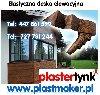 Imitacja drewna - Elastyczna deska dekoracyjna PlasterTynk poszukuję Remontowe / Budowlane